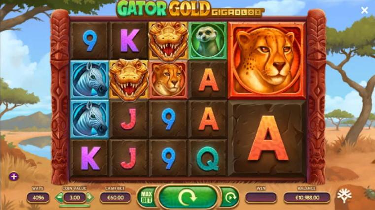 Gator gold gigablox spilleautomat